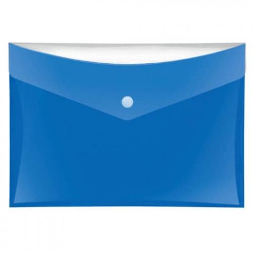 Sammeltasche A5 glänzend blau